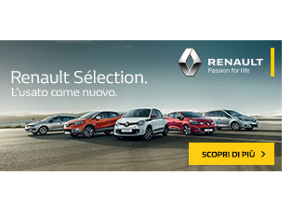 Renault Selection: l'usato come nuovo